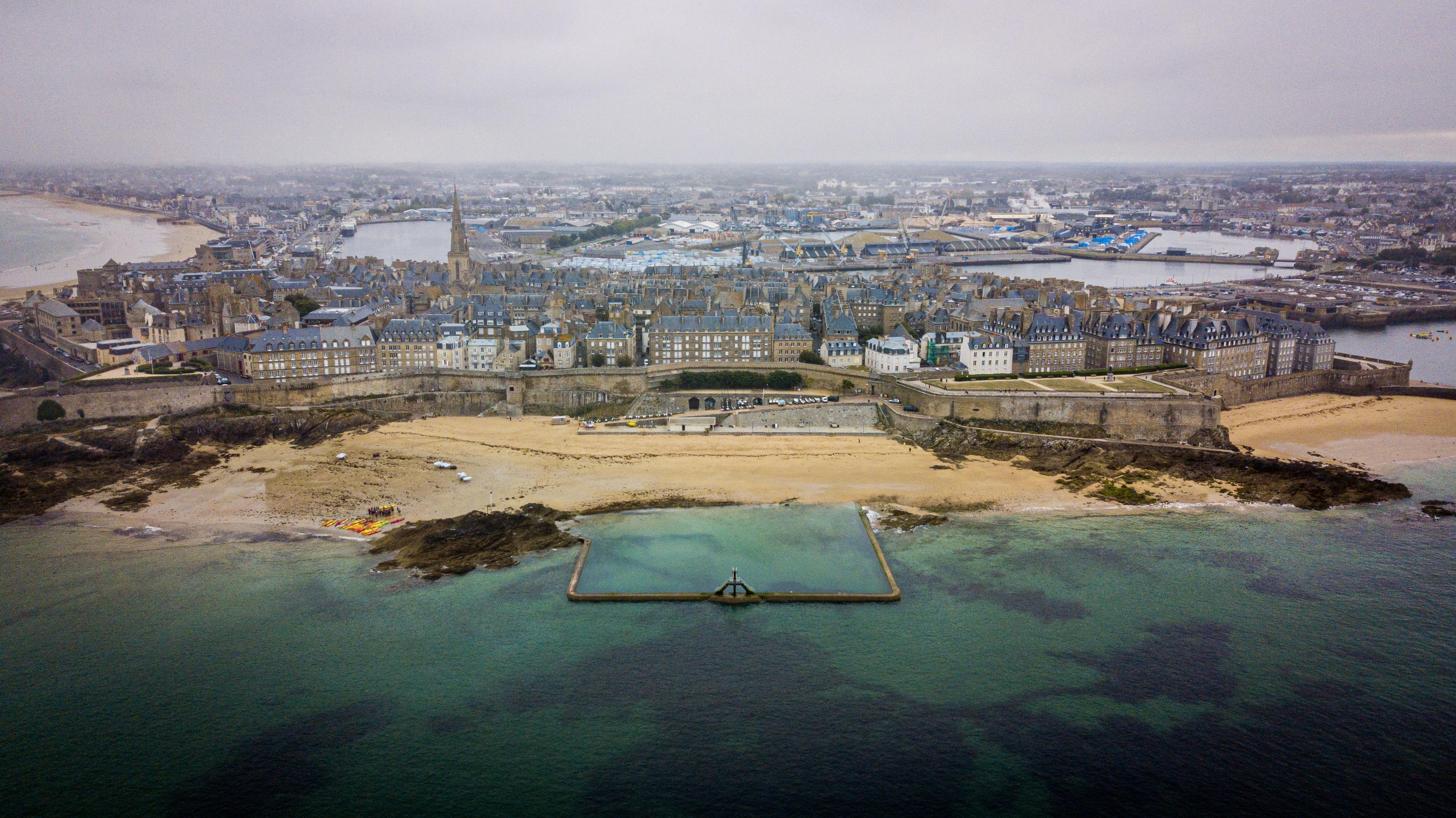 Saint Malo drone