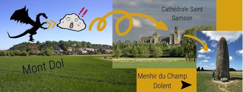Mont Dol and Dol de Bretagne
