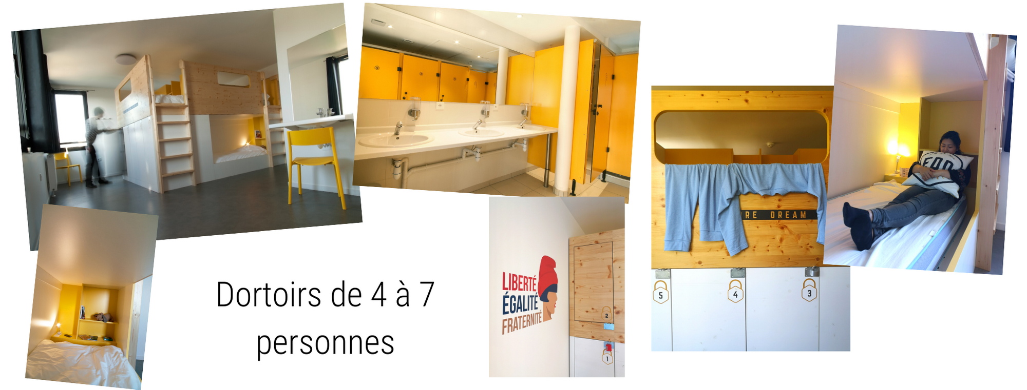 chambres groupes